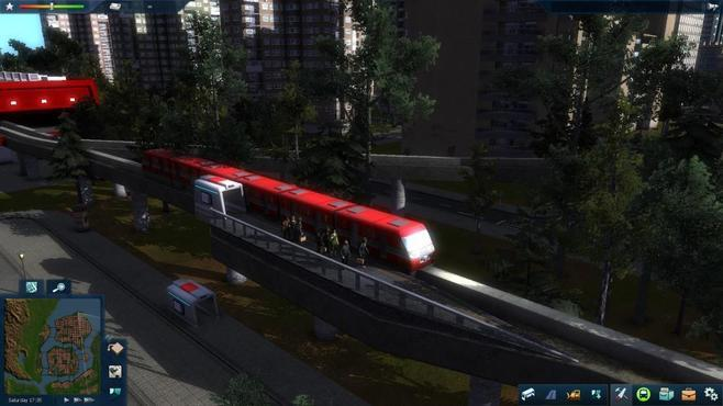 Cities In Motion 2: Marvellous Monorails Screenshot 2