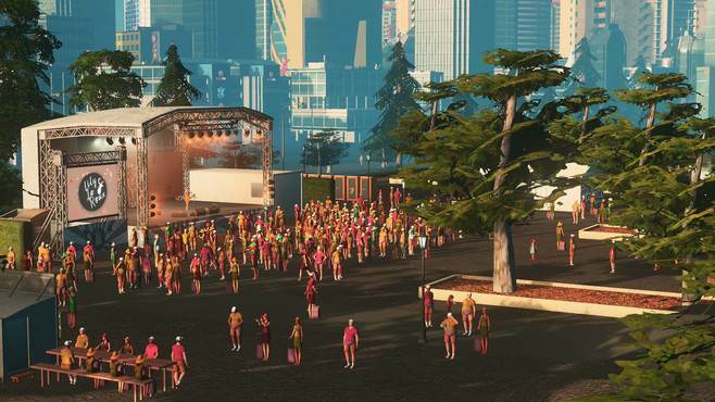 Cities: Skylines - Concerts Screenshot 4