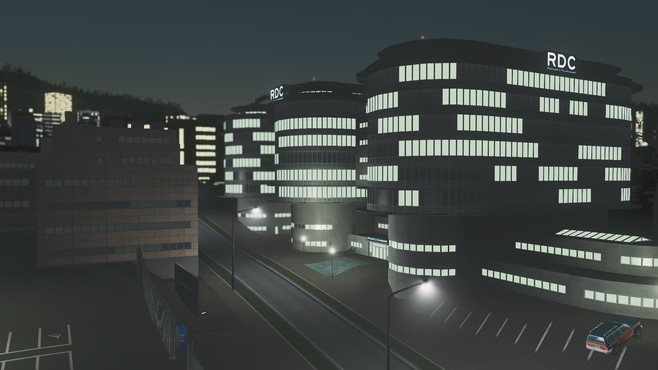 Cities: Skylines - Content Creator Pack: High-Tech Buildings Screenshot 5