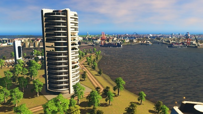 Cities: Skylines - Content Creator Pack: High-Tech Buildings Screenshot 6