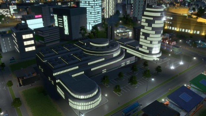 Cities: Skylines - Content Creator Pack: High-Tech Buildings Screenshot 7