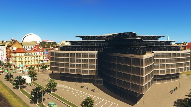 Cities: Skylines - Content Creator Pack: High-Tech Buildings Screenshot 8