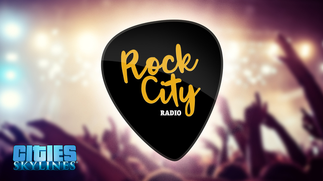 Cities: Skylines - Rock City Radio Screenshot 1