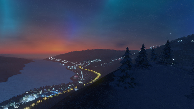 Cities: Skylines Snowfall Screenshot 1