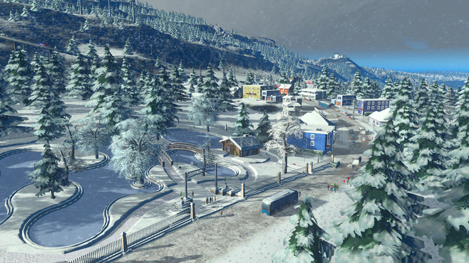 Cities: Skylines Snowfall Screenshot 5