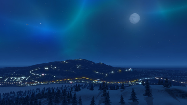 Cities: Skylines Snowfall Screenshot 6