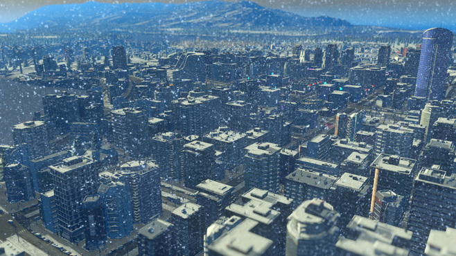 Cities: Skylines Snowfall Screenshot 8
