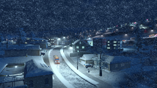 Cities: Skylines Snowfall Screenshot 10