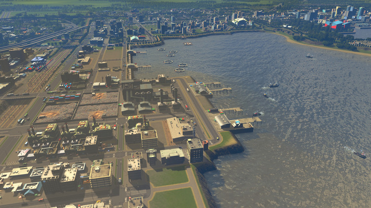 Cities: Skylines - Sunset Harbor Screenshot 4