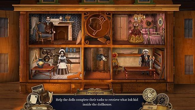 Clockwork Tales: Of Glass and Ink Screenshot 2