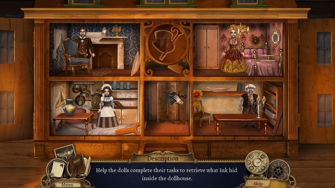 Clockwork Tales: Of Glass and Ink Collector's Edition Screenshot 4