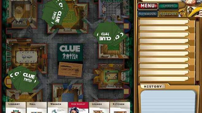Clue Classic Screenshot 1