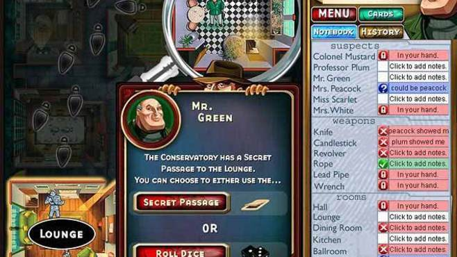 Clue Classic Screenshot 4