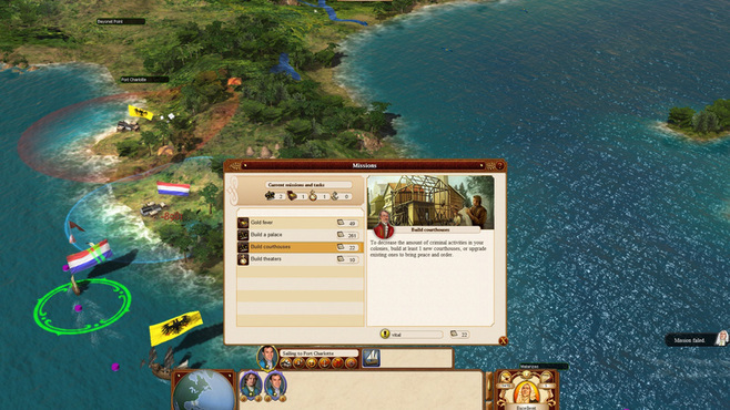 Commander: Conquest of the Americas Screenshot 4