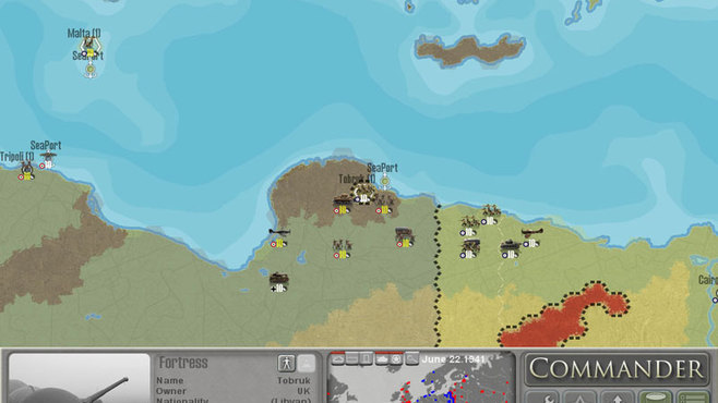 Commander: Europe At War Screenshot 2