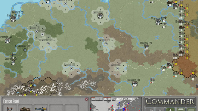 Commander: Europe At War Screenshot 3