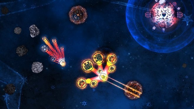 Conflicks: Revolutionary Space Battles Screenshot 2