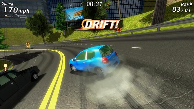 Crazy Cars Screenshot 1
