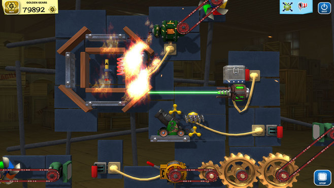 Crazy Machines Golden Gears Screenshot 1