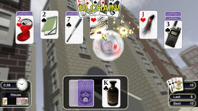 Crime Solitaire Screenshot 2