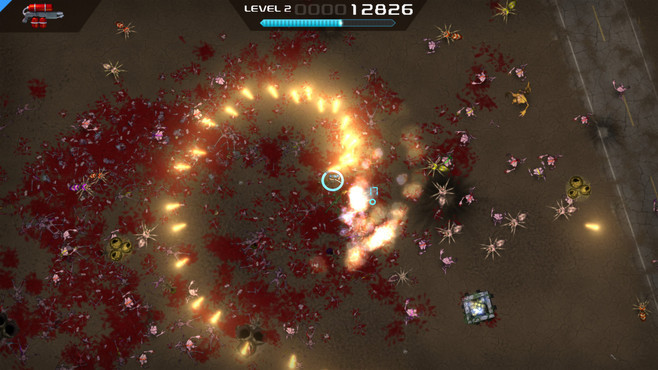 Crimsonland Screenshot 1