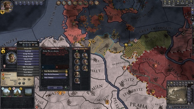 Crusader Kings II: Conclave Screenshot 1