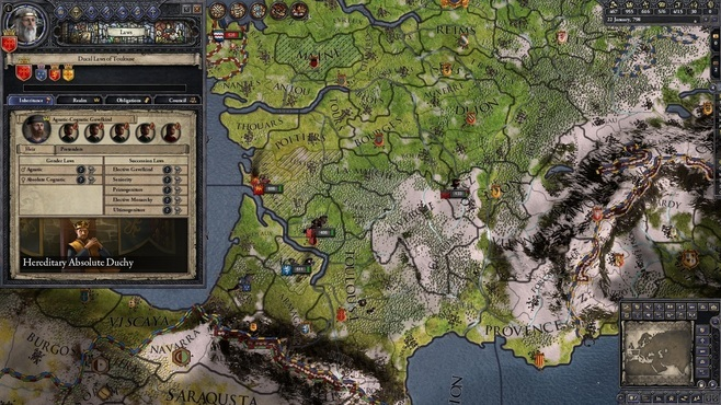 Crusader Kings II: Conclave Screenshot 10
