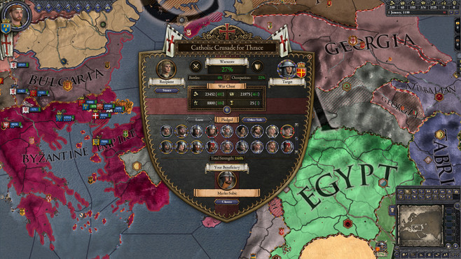 Crusader Kings II: Holy Fury Screenshot 3