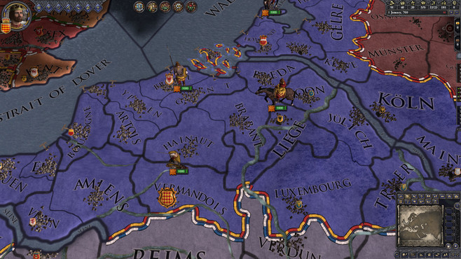 Crusader Kings II: Horse Lords Content Pack Screenshot 1