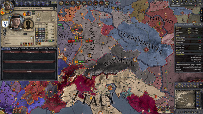 Crusader Kings II: Hymns of Revelation Screenshot 1