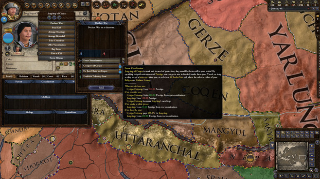 Crusader Kings II: Jade Dragon Screenshot 5