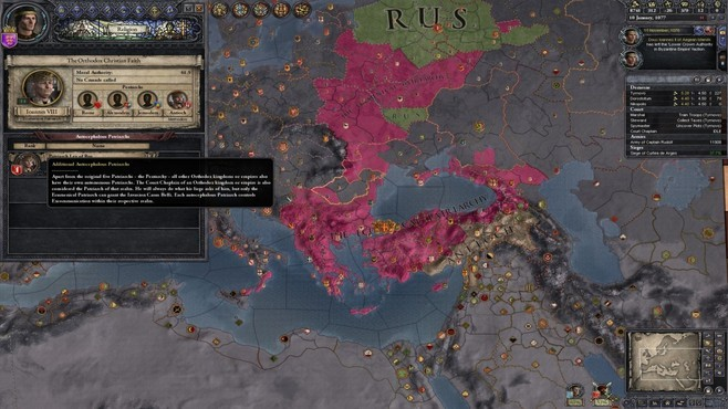 Crusader Kings II: Legacy of Rome Screenshot 1
