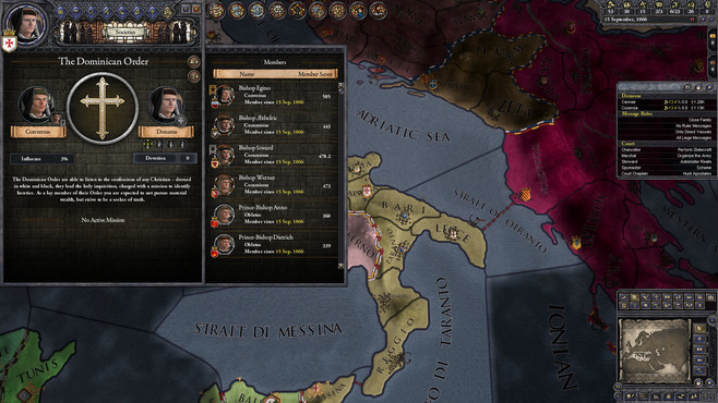 Crusader Kings II: Monks and Mystics Screenshot 4