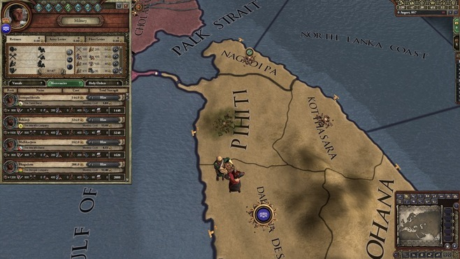 Crusader Kings II: Rajas of India Screenshot 6