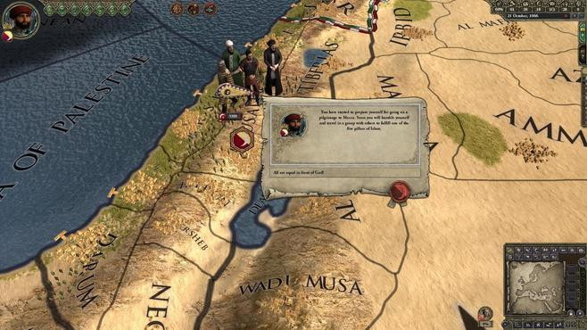 Crusader Kings II: Sons of Abraham Screenshot 3