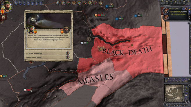 Crusader Kings II: The Reaper's Due Screenshot 1