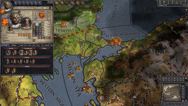 Crusader Kings II: The Reaper's Due Content Pack Screenshot 3