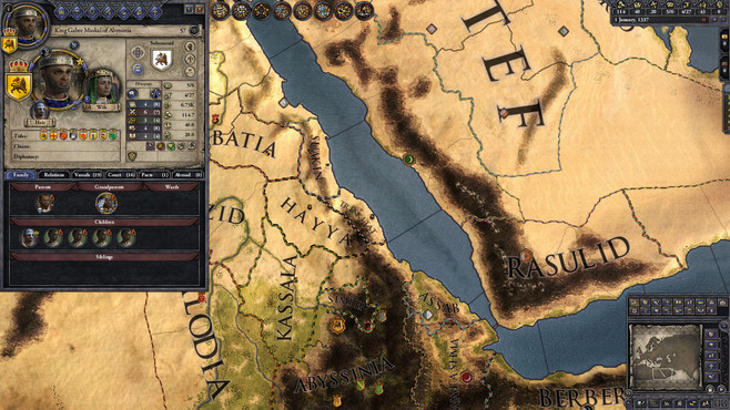 Crusader Kings II: The Reaper's Due Content Pack Screenshot 4