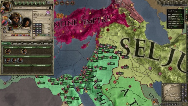 Crusader Kings II: Sword of Islam Screenshot 2