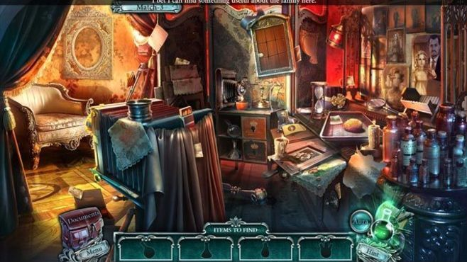 Cursed Cases: Murder at the Maybard Estate Collector's Edition Screenshot 1