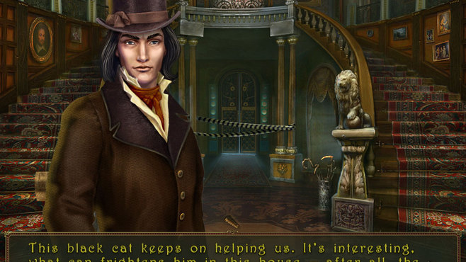 Dark Tales: Edgar Allan Poe's The Black Cat Collector's Edition Screenshot 12