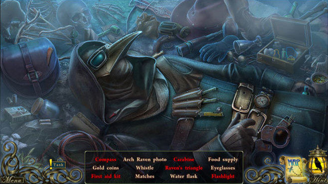 Dark Tales™: Edgar Allan Poe's The Raven Screenshot 1