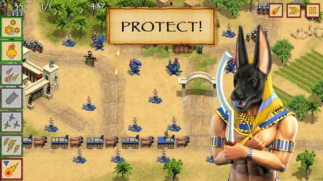 Defense of Egypt: Cleopatra Mission Screenshot 2