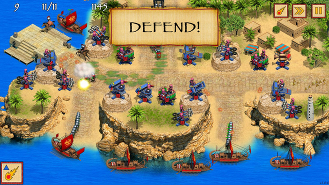 Defense of Egypt: Cleopatra Mission Screenshot 3