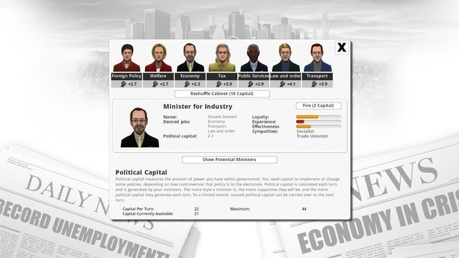 Democracy 3 Screenshot 2