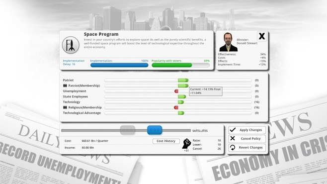 Democracy 3 Screenshot 9