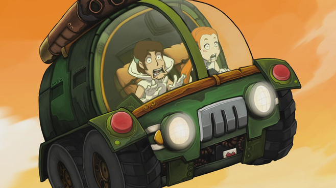 Deponia 3: Goodbye Deponia Screenshot 1