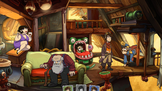 Deponia 3: Goodbye Deponia Screenshot 4