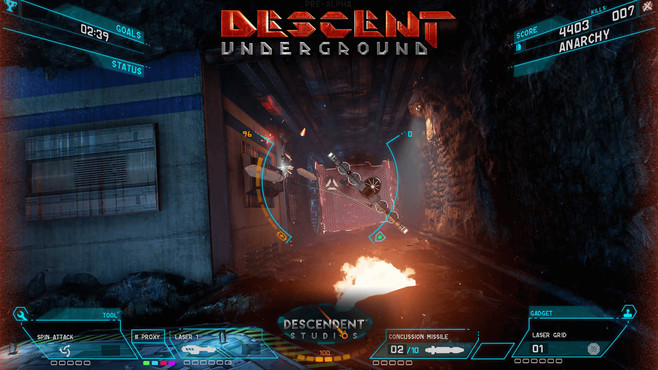Descent: Underground Screenshot 4