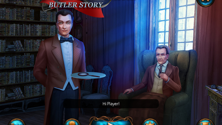 Detective Solitaire - Butler Story Screenshot 1